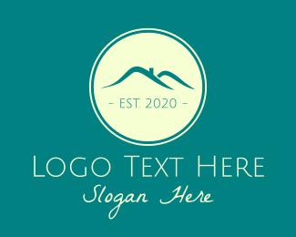 Chimney - Blue Roof logo design