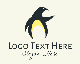 Bird Animal - Wild Penguin logo design