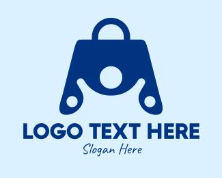 Shopper - Hand Bag Person  logo design
