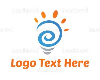 Whirl - Artistic Idea logo design
