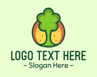 Ecology - Green Tree logo design