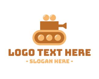 Youtube - Camera Tank logo design