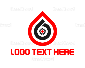 Petroleum - Drop Number 6 logo design