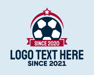 Soccer Team - Simple Soccer Emblem  logo design