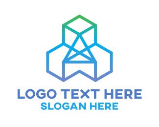 Corporate - Diamond Cubes logo design