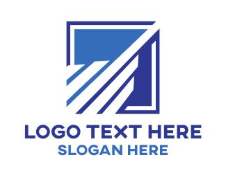 Growth - Building Square logo design