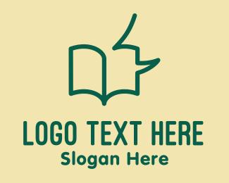 Book Club - Audio Book Talk logo design