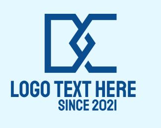 """Blue D & C Monogram"" by Alexxx"