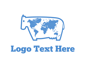 Best - World Milk logo design