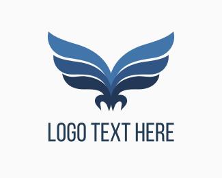 Patriotic - Eagles Wings logo design