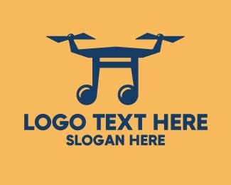 Music Show - Musical Drone Show logo design
