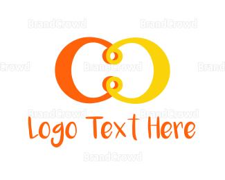 Duo - C & C logo design