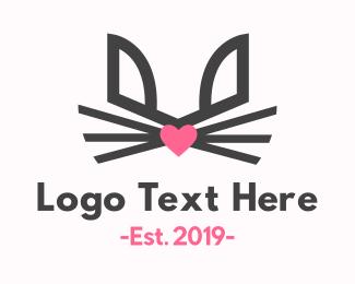 Easter - Lovely Rabbit logo design