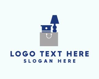 Desk - Furniture Bag logo design