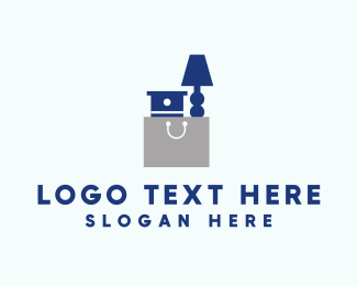 Nightstand - Furniture Bag logo design