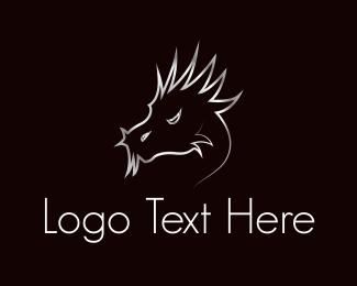 Gator - Dragon Head logo design