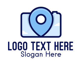 Photoshoot - Location Camera logo design