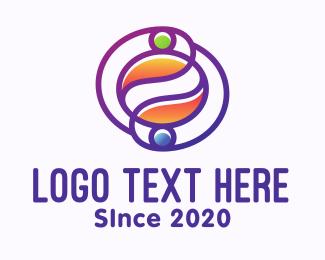 Solar System - Internet Cafe Coffee Bean logo design