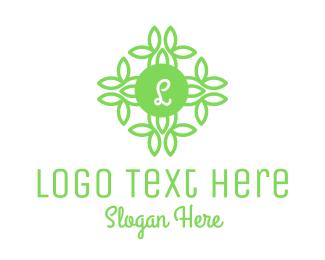 Environtment - Stroke Natural Lettermark logo design