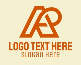 Loop - A & R Loop Monogram logo design