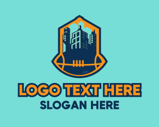 Football - Football City logo design