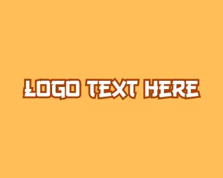 Animation - Anime Wordmark logo design
