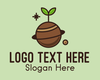Soil - Plant Planet  logo design