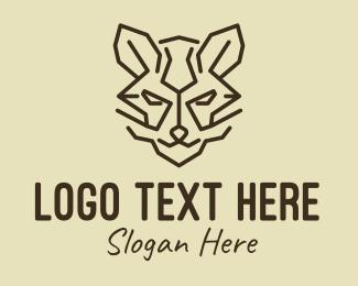 Brown - Brown Wildcat logo design