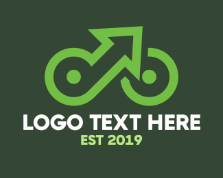 Cycling - Up Cycle logo design