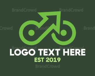 Commute - Up Cycle logo design