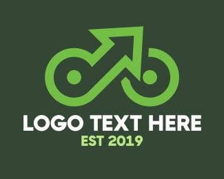 Breathe - Up Cycle logo design