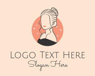 Hairdresser - Female Hairdresser logo design