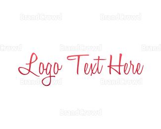 Fortune - Elegant Pink Gradient logo design