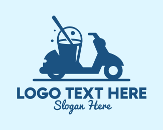 Bucket - Mobile Cleaning Scooter Wash logo design
