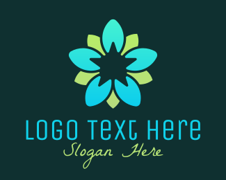 Decorative - Organic Decoration Flower logo design