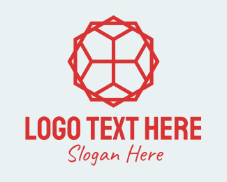 Textile Pattern - Geometric Tile Pattern logo design