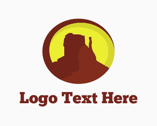 Desert - Desert Mountain Canyon logo design