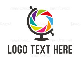 Globe - Globe Camera logo design