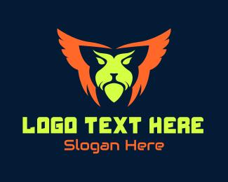 Fortnite - Neon Panther Beast Gaming logo design