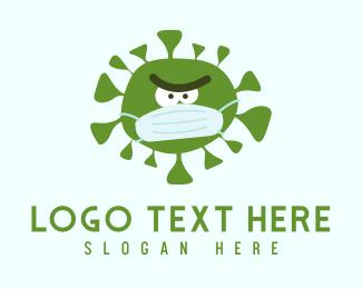 Physician - Coronavirus Face Mask Mascot logo design