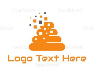 Beehive - Orange Beehive logo design