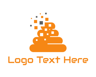 Emoji - Orange Beehive logo design