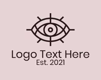 Eye - Mystical Tarot Eye logo design
