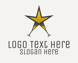 Logo Design - PARTY STAR (STAR PARTY)