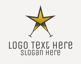 Club - Champagne Star Club logo design