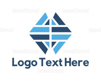 Arrows - Diamond Arrows logo design