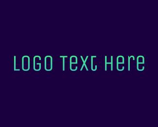 Alphabet - Gradient Cyan logo design