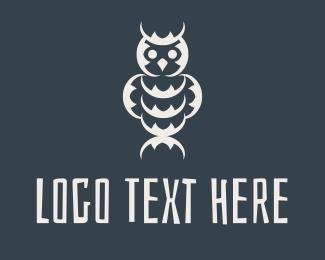 Tribal - Tribal Owl logo design