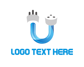 Cable - Unplugged logo design