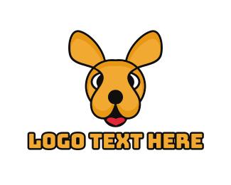 Ear - Colorful Kangaroo logo design